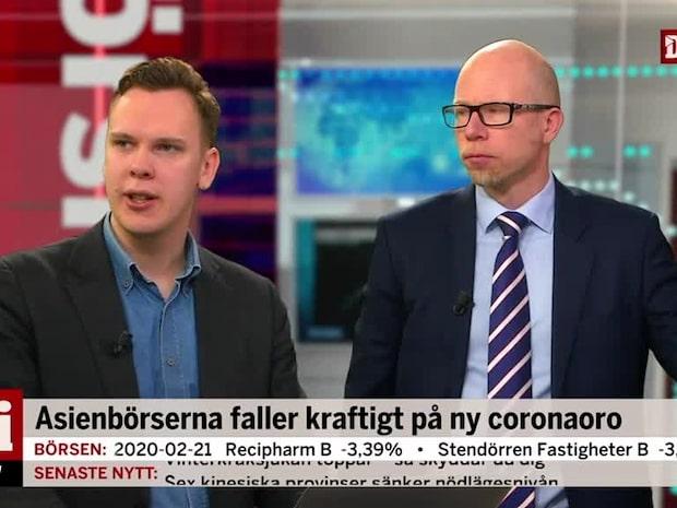 """Johan Wendel om börsen: """"Corona-oron är det som ställer till det"""""""
