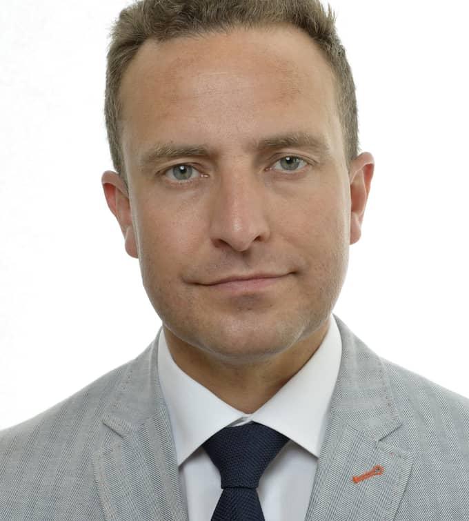 Tomas Tobé (M), justitieutskottets ordförande. Foto: Pressbild