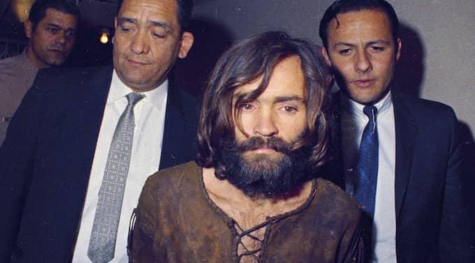 Stjärna? Charles Manson befinner sig i populärkulturens vård. Foto: AP