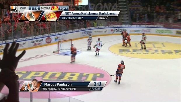 Karlskrona-Mora 3-0 - highlights