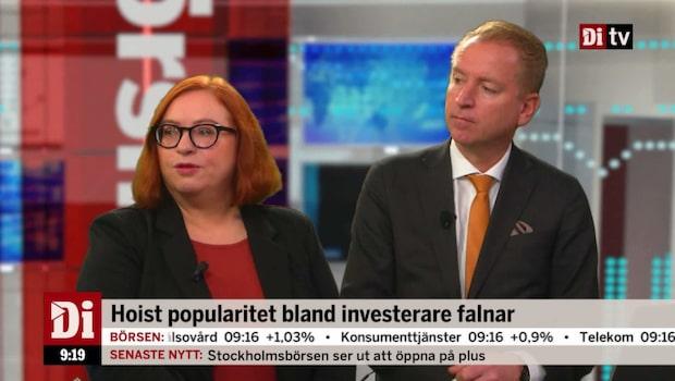 """Jönsson om Hoist: """"Börjar se attraktivt ut"""""""