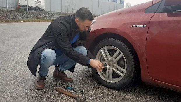 Så lätt tar tjuven dina däck