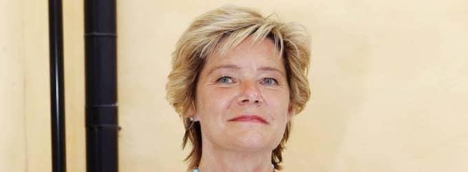 Barn- och äldreminister Maria Larsson (KD) lovade att inga barn skulle vräkas. Foto: Cornelia Nordström