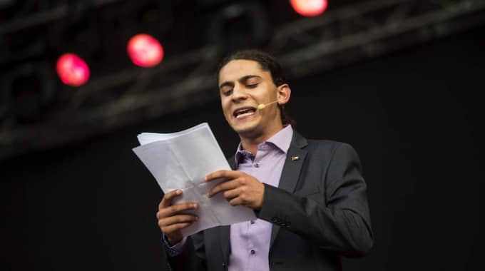 Yahya Hassan. Jävligt arg. Foto: Anders Ylander