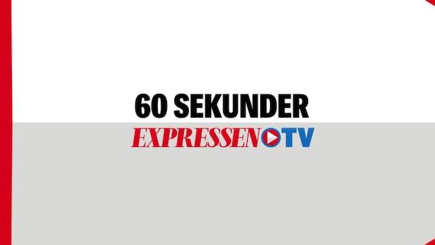 Dagens politik på 60 sekunder – i Expressen TV