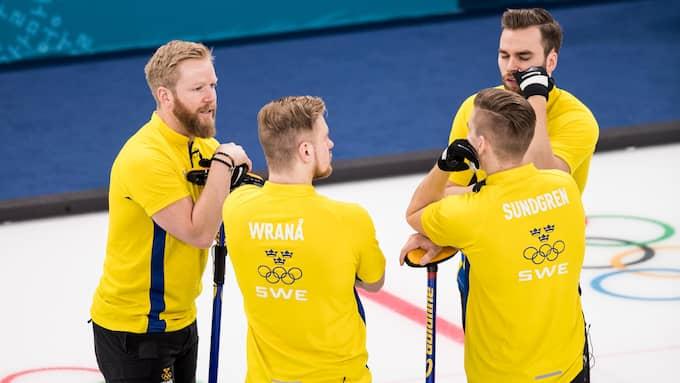 Lag Niklas Edin fortsätter gå starkt i OS. Foto: PETTER ARVIDSON / BILDBYRÅN