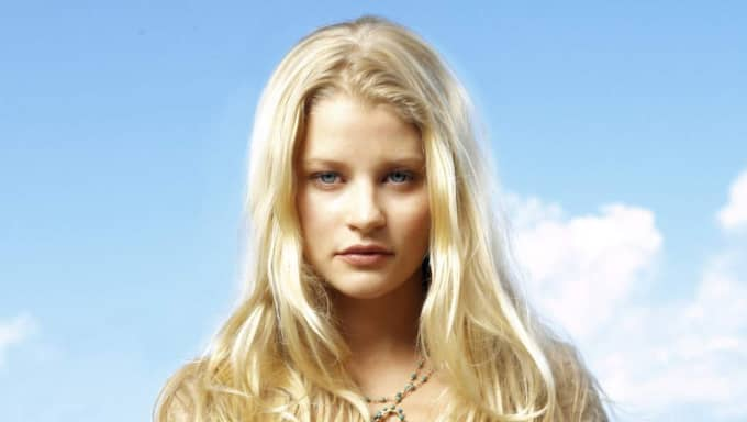 """Hon spelade höggravid när flygplanet kraschade i tv-serien """"Lost"""". Foto: Foto: Art Streiber/Tv4."""