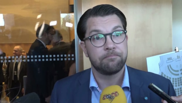 Jimmie Åkesson efter Stefan Löfvens fall