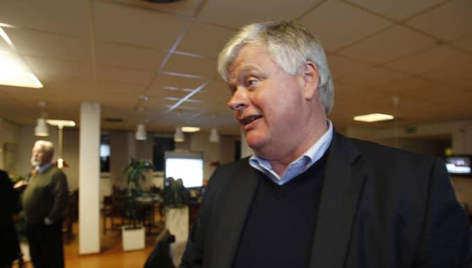 Lars-Ingvar Ljungman kräver att Patrick Reslow avgår. Foto: Ronny Johannesson