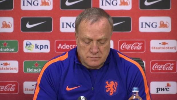 Nederländska förbundskaptenen pik mot Sverige