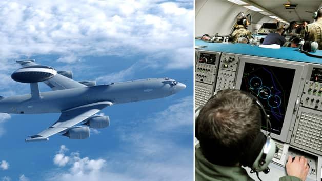 Boeing E-3D Sentry är ett mycket avancerat flygplan. Foto: Brittiska flygvapnet och Getty