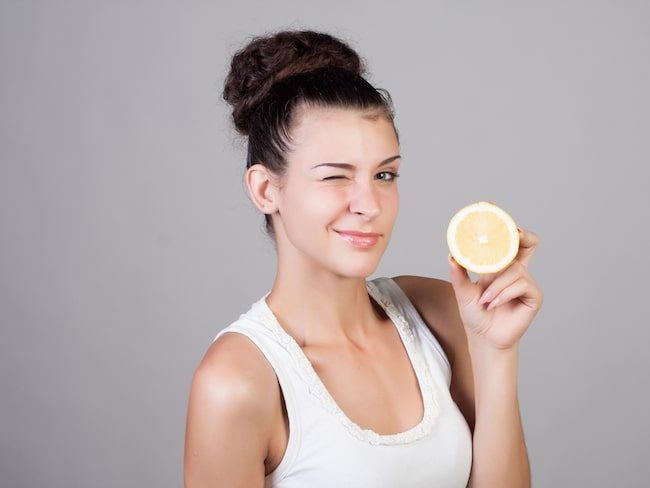 Citron är fullt av C-vitamin, en ingrediens som finns i många skönhetsprodukter.