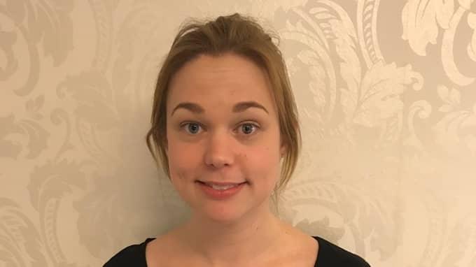 Jessica Nordkvist var nära att gå på den dyra bluffen från företaget, men räddades av en varning på Facebook. Foto: Privat