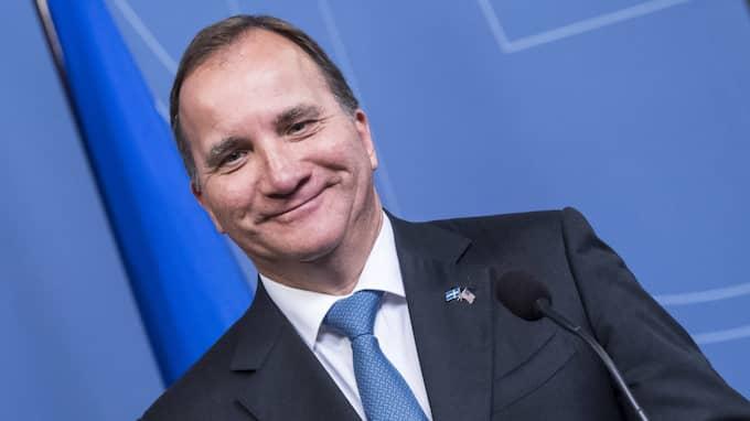 """""""Hela Sverige måste känna att man är med"""", säger Stefan Löfven. Foto: Pelle T Nilsson / Stella pictures"""