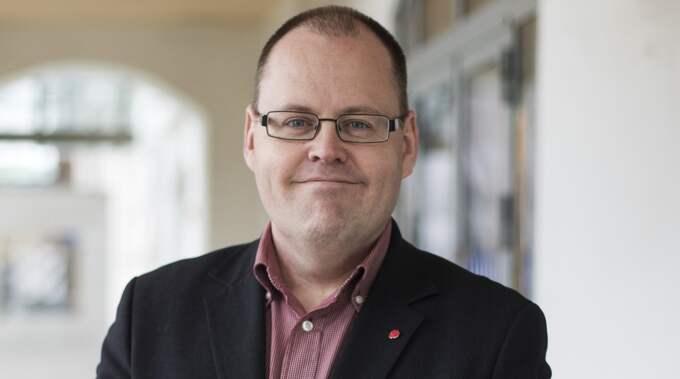 """""""Det är extra roligt att idén kom från ett medborgarförslag"""", säger Johan Nyhus, socialdemokratisk ordförande i Trafiknämnden. Foto: Anders Ylander"""