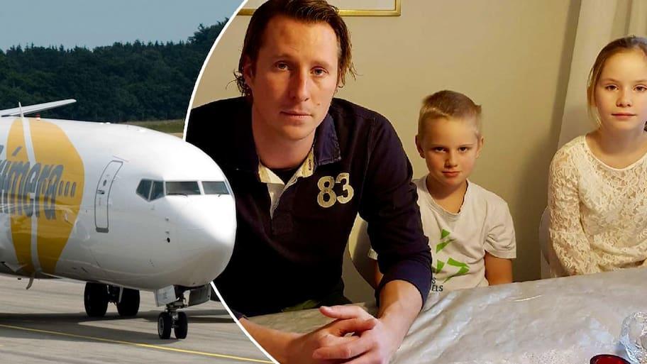 Det var i juli som Karl Wåhlin, 37, flög tur