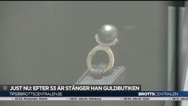 Guldbutiker stänger efter ökad rånrisk