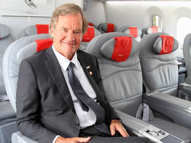 Björn Kjos är vd på det norska flygbolaget Norwegian.