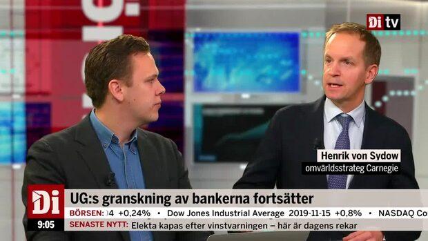 """Strategen: """"Våt filt över bankerna"""""""