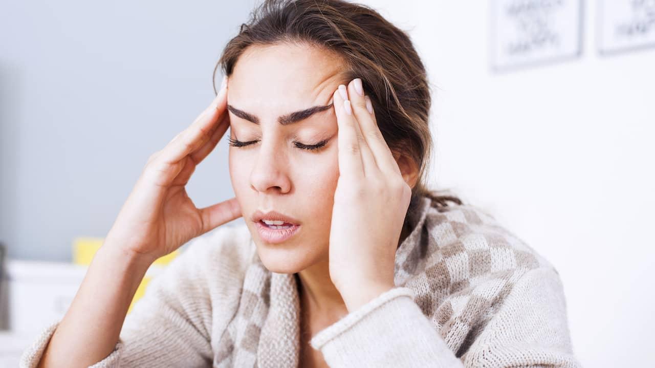 näsblod huvudvärk yrsel trötthet