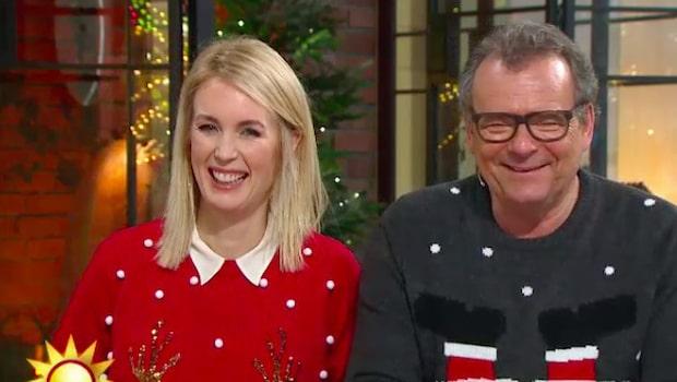 Jenny och Steffos skrattattack efter TV4-haveri