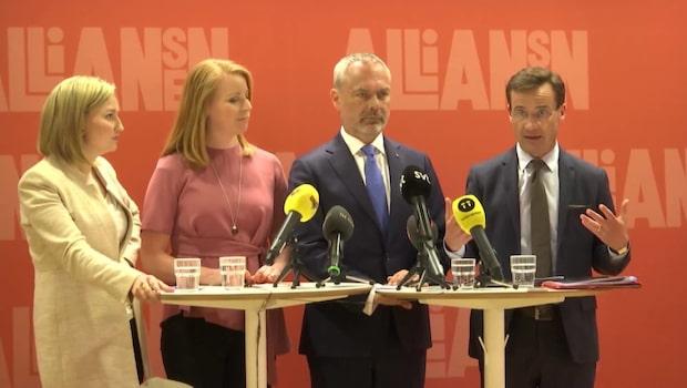 Jan Björklund: Uppenbart att det finns spänningar inom Alliansen