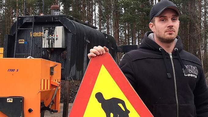 SVT Nyheter Småland har varit och träffat Timmy – han hävdar att att han handlade i nödvärn. Foto: Karin Ahlgren/SVT