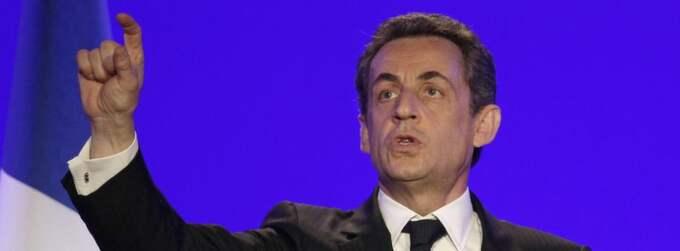 Sarkozy ser, enligt opinionsmätningar, ut att förlora presidentvalet. Foto: Michel Euler