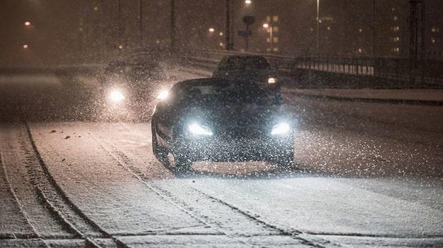 Risk för snö när vintern slår till tidigt