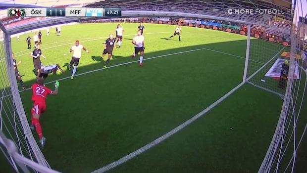 Filip Rogic kvitterar mot Malmö på straffretur