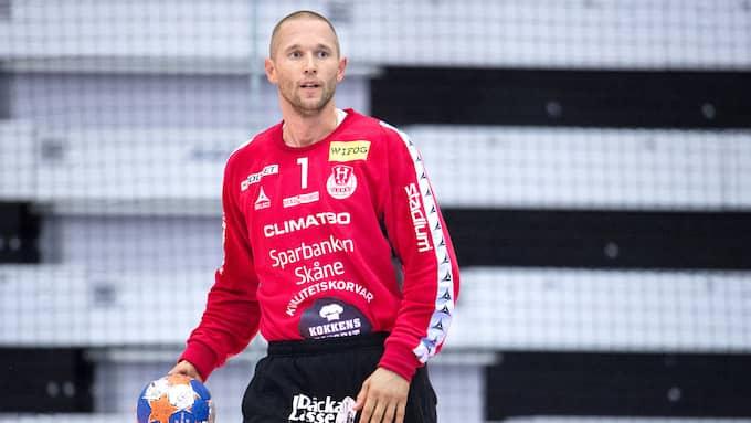 Torbjörn Jacobsson hoppar in i leken igen och löser nykomlingen IFK Ystads målvaktproblem. Foto: LUDVIG THUNMAN
