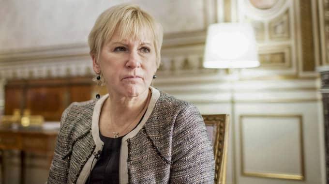Margot Wallström. Foto: Linus Sundahl-Djerf/Tt