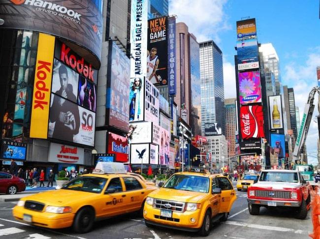 """The Big Apple"" - New York."