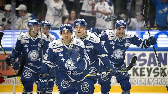 Leksand skrällde mot Färjestad i säsongens första träningsmatch Foto: ULF PALM/TT / TT NYHETSBYRÅN