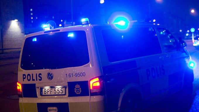Bild från en skottlossning i Malmö under förra året. Foto: FRITZ SCHIBLI