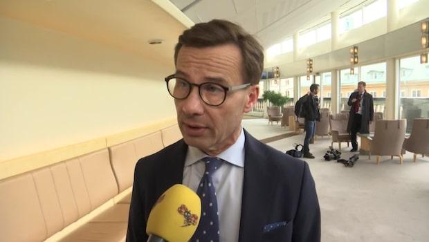 """Ulf Kristersson: """"Uthålligt högre resurser nödvändigt för en starkare polis"""""""