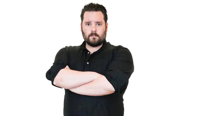 Csaba Bene Perlenberg är fristående kolumnist på Kvällspostens ledarsida. Foto: NORA LOREK