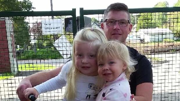Jonas, 39, kör flera mil – för att lämna på förskolan