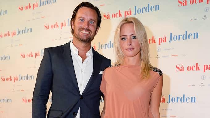 Niclas Engsäll och Carolina Neurath tillsammans 2015. Foto: JULIA DANSARIE