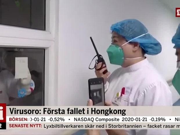 """Odebjer om den tilltagande virusoron i Kina: """"Viktigt att vara försiktig"""""""