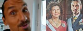 Sanningen bakom Zlatans kungatavla