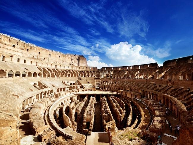 Colosseum i Rom i Italien var den populäraste sevärdheten i världen under förra året, enligt Tripadvisor.