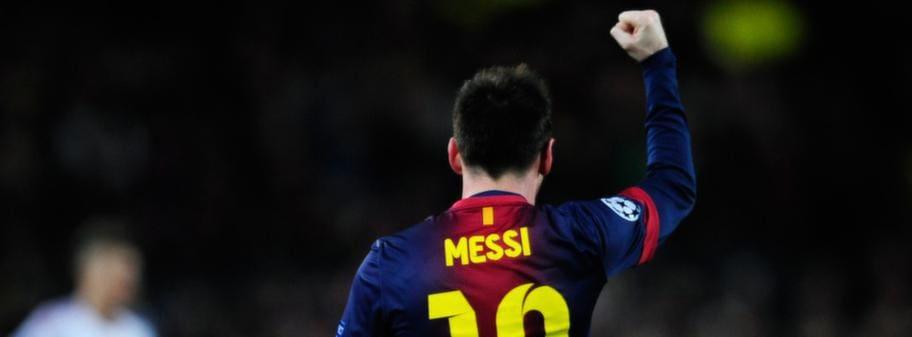 Messi slog upp larskada