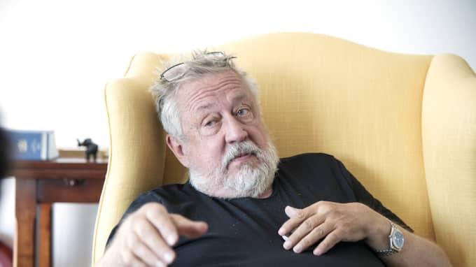 Leif GW Persson om året som kommer. Foto: Olle Sporrong