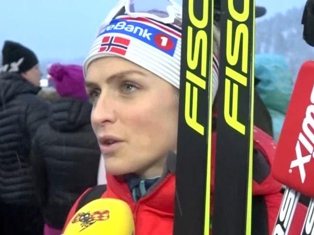 Therese Johaug förvånad över svenskans miss