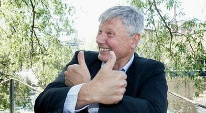 Lars Ohlys vänsterparti har ökat sin andel av väljarna i den senaste Demoskop-mätningen. Foto: JOCKE BERGLUND