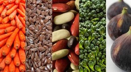 Fiberrik mat exempel
