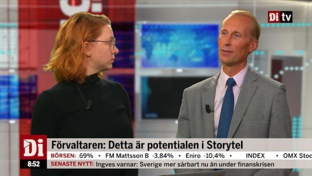 Förvaltaren: Detta är potentialen i Storytel