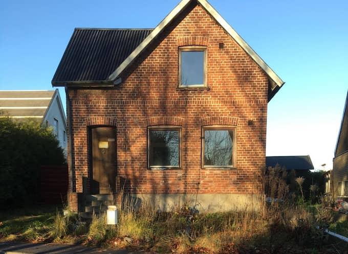 Husets insida fick Helene Strömberg att bryta ihop. Foto: Privat
