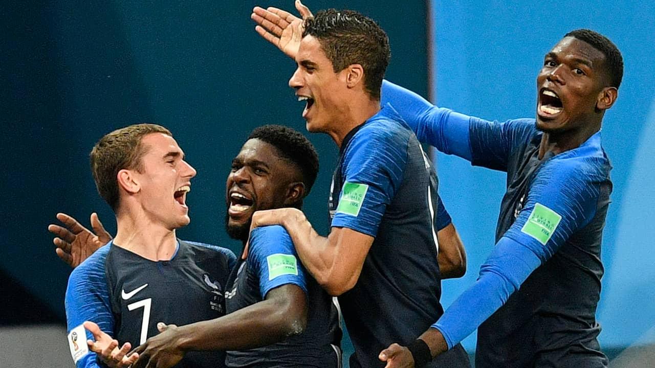 Frankrike till VM-final efter drama mot Belgien